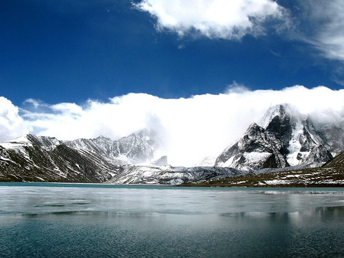 Gurudongmar Lake - North Sikkim - India
