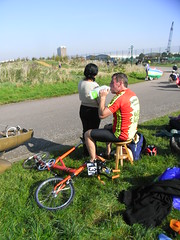 R0018781 (anglepoise) Tags: bike bicycle cycle recumbent velo moulton bhpc mikeburrows hillingdon2