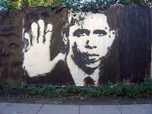 Obama Street Art from PEr_Corell on Flickr