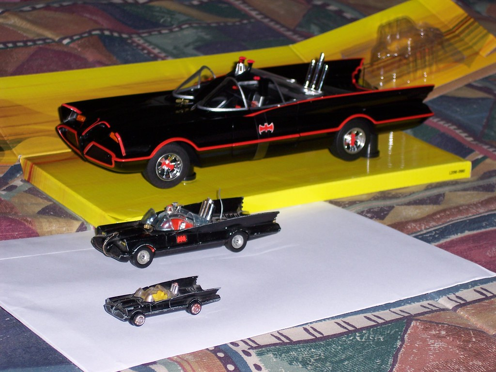 1966 Batmobiles [From Old to New]