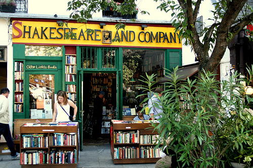 Shakespeare and Company, por Swiv