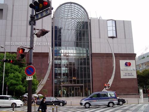 你拍攝的 梅田藝術中心。
