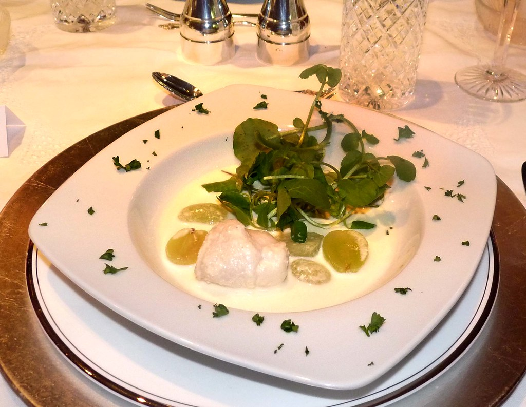 Sole Veronique with Watercress