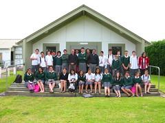 Wanganui High School Maori Language Class, Wanganui, New Zealand