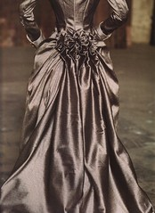 Mina's bustle (Dracula film) (Rachel Thomas (Story Slices)) Tags: vintage victorian dracula mina costuming bustle edwardian ladylike ballgown historicfashion