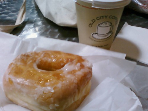 delicious offee and donut