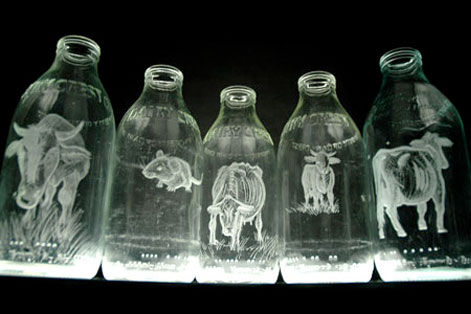 Bottle Banksy