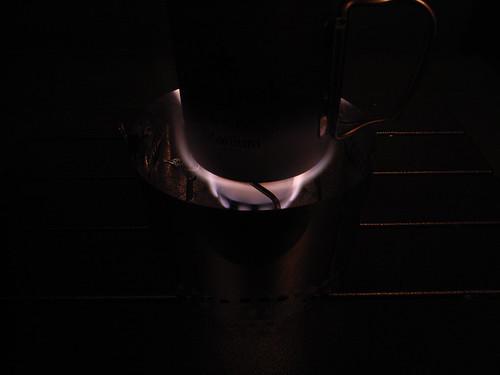 T's stove チタン五徳 + esbit stove 3