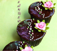 More Chocolate (~Trs Chic Cupcakes by ShamsD~) Tags: flowers rose by cupcakes nikon candy chocolate african ganache south sparkle tres chic callebaut proudly designercupcakes shamsd shamimadesai madeinsouthafrica cupcakesinsouthafrica cupcakesfromsouthafrica cupcakesinpietermaritzburg weddingcupcakesinsouthafrica weddingcupcakesinpietermaritzburg