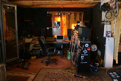 Frogville Studios - control and tracking room