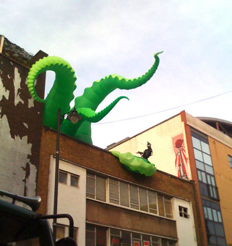 Octopus at Curtain Road