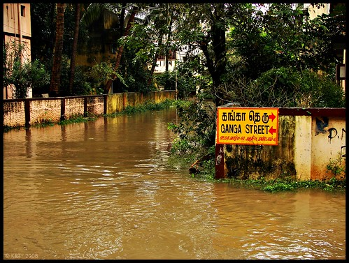 Ganga Street - Chennai Rain