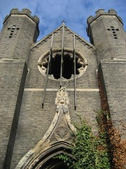 High-arched and ivy-claspt (richardr) Tags: old city uk greatbritain england urban building london english heritage history abandoned broken church window overgrown cemetery architecture geotagged religious europe european unitedkingdom britain decay religion gothic towers 19thcentury victorian ruin ivy chapel historic victoriana british derelict europeanunion necropolis decayed decaying dilapidated ruined nineteenthcentury gothicarchitecture gothicrevival rosewindow magnificentseven abneyparkcemetery taphophilia abneyparkchapel williamhosking ruinedarchitecture geo:lon=0077387 geo:lat=51564306