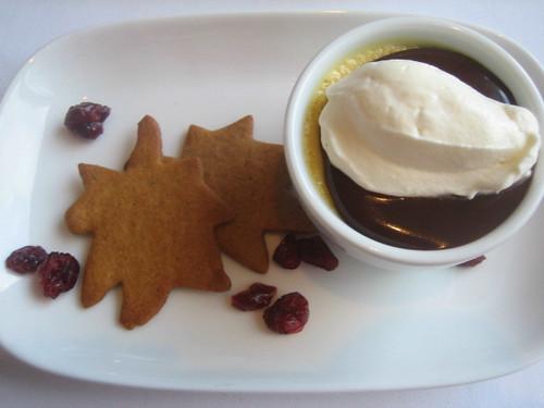 Rialto's Thanksgiving dessert