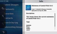 Info context-menu