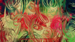 You Are Unique (PatrickGunderson) Tags: desktop pink red wallpaper brown abstract green art yellow composition landscape design circles flash patrick watermelon adobe programming generative exploration generated colorfield actionscript spirograph nonfigurative 1080p gunderson as3 epicycles