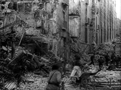 Milicias al asalto del Alcázar