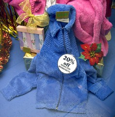 Bargain Blue Bed Jacket