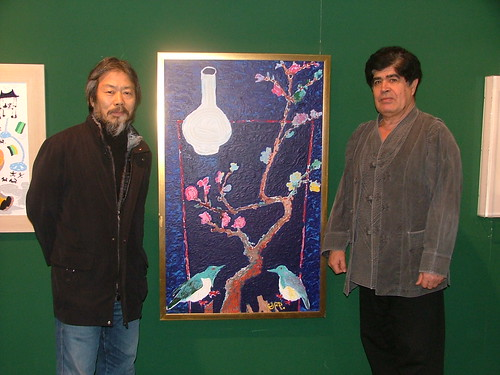 Jose Diaz with Kim Man Su