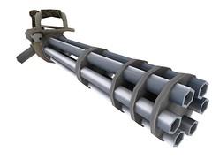 minigun (pachi-art) Tags: minigun
