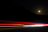 Journey to the Moon (segamatic) Tags: longexposure light moon night canon eos coast highway pacific trails malibu full pch canonef24105mmf4lisusm photofaceoffwinner pfogold 5dmarkii 5dmkii