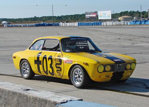 1974 Alfa Romeo at Sebring HSR