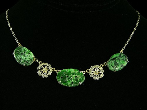 Necklace of Green Foxfire
