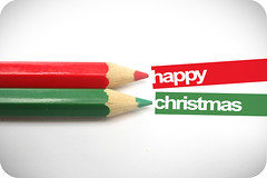 Early greetings (xdesx) Tags: christmas red green typography yay greetings coloredpencils typo happychristmas ofsomesort abigfave typographyfriday crimbo2008 christmascountdownchallenge2008 becausemyhandwritingwouldbemessy