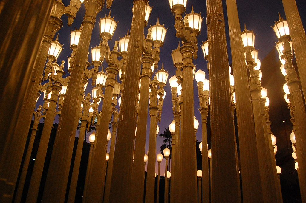 A Forest (galendara) Tags: La Lamps Posts Lacma Lampposts Urbanlight  Chrisburden