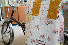 Lucky Bike Race Quilt