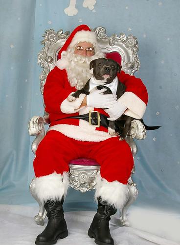 Tyson & Santa