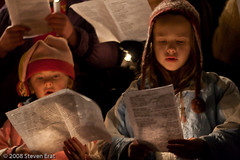 Children at Candlelight Service
