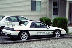 1984 Pontiac Fiero Indy Pace Car (blondygirl) Tags: 1984 fiero pontiac pontiacfiero indypacecar pontiacfieroindypacecar 1000ormoreviews
