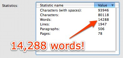 No. of words - Intro to Web 2.0 for Librarians serving Young Adults