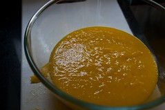 puree of mango, lime, coconut extract & gelatin