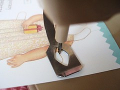 Paper Doll Cutter in Action