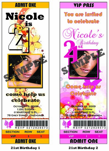 21st Birthday Invitations will set the theme of your celebration immediately