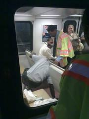 Sick passenger on Orane Line