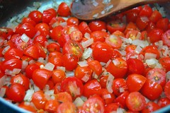 Onion and Cherry Tomatoes