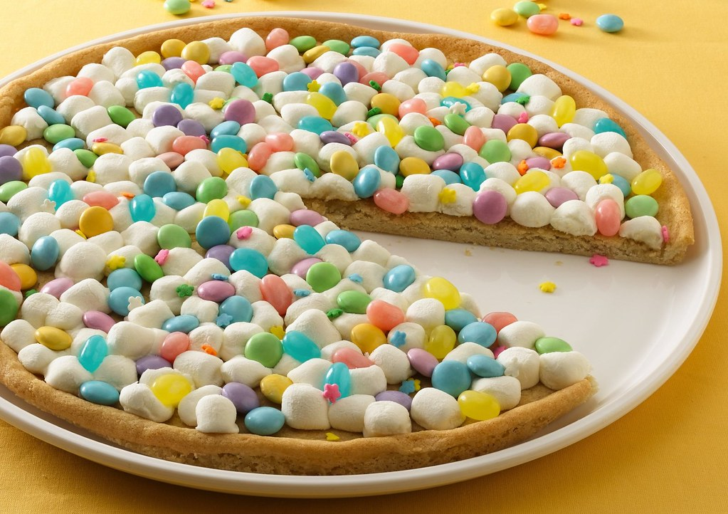 Spring Cookie Pizza Recipe