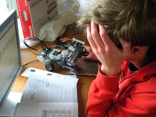 robotics frustration