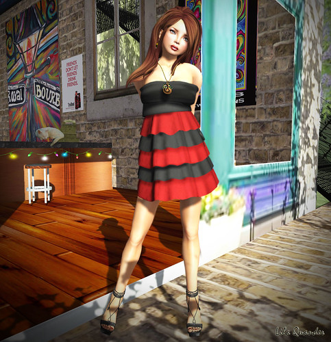[GIEREH] - carol/dress/red
