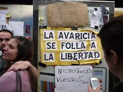 #acampadasol (Brocco Lee) Tags: madrid sol mani paro crisis precarios manifestacin 15m democracia desempleo precariedad spanishrevolution precarias yeswecamp democraciarealya acampadasol notenemosmiedo nonosvamos