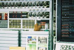Colossus's Squirrel (hala moodie) Tags: film enigma analogue alanturing turing bletchleypark olympusom10 bletchley codebreakers enigmamachine kodakcolorplus200