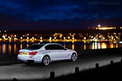 VIP (AndWhyNot) Tags: light car night painting long exposure bmw ld 730 6756