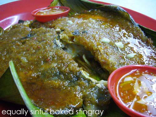 baked stingray