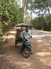 Ta Prohm - Hung, my driver, always…
