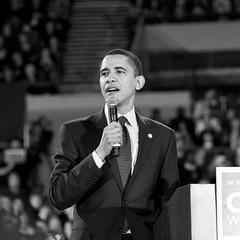 Barack Obama comes to Portland (EthanPDX) Tags: oregon portland rally obama barack hilaryclinton yeswecan billrichardson democraticprimary campaign08 changeyoucanbelievein