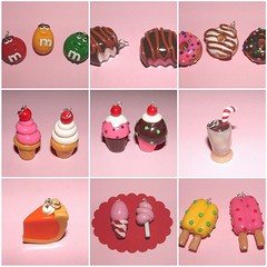 Sweet Charms (Polymer Clay) (yifatiii) Tags: ceramica cake studio easter pie pumpkin cupcakes pc keychain order candy sweet handmade chocolate earring cellphone straw charm polymerclay fimo biscuit cupcake donuts icecream doughnut pumpkinpie cottoncandy mm pincushion etsy oreo custom milkshake lollipop cushion pendant popsicle kato sugarcookies popsicles icecreams chocolatecandies plastica buuny jellydoughnut premo polyclay oreocookie arcilla ceramicaplastica pastesintetiche coldporcelain polimer