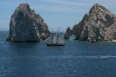 Clipper Ship at Los Arcos, Cabo San Lucas (Lisa Andres) Tags: ocean cruise carnival cabo scenery ship pacific pride coastal boating bajacalifornia baja clipper cabosanlucas carnivalcruise arcos loscabos carnivalpride losarcos mexicanriviera mexicanrivieracruise
